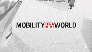 Mobility for a better world Porsche-Kampagne