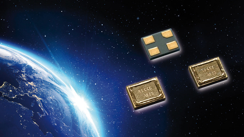 Eine Abgleich-Frequenztoleranz von ±7ppm bei +25°C erreichen die MHz-Quarze von River/quarzwerk, die im SMD1210-Gehäuse untergebracht sind. Sie sind mit Frequenzen zwischen 32 und 80MHz erhältlich.