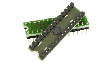 Hohe Performance durch eigene USB-Endpoints für IIC und ADC bietet der IO-Warrior28.