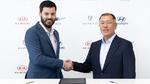 Entwicklungskooperation zwischen Hyundai und KIA mit Rimac