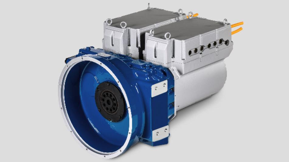 Das elektrische Antriebskonzept powerMELA duo280 von STW.