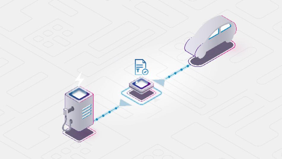 DLT als Schlüsseltechnik für die Economy of Things – ein sicheres Ökosystem für Kommunikation und Interaktion zwischen vernetzten IoT-Teilnehmern.