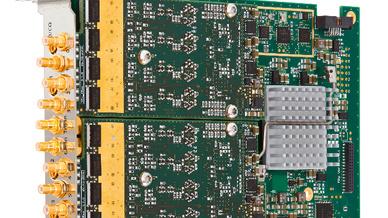 Mit 512 MSamples können die Karten sehr viele detaillierte Testsignale speichern.