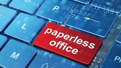 Papierloses Büro Informationsmanagement