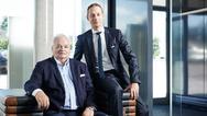 v.l.n.r.: Horst und Andreas Rapp (Geschäftsführung)
