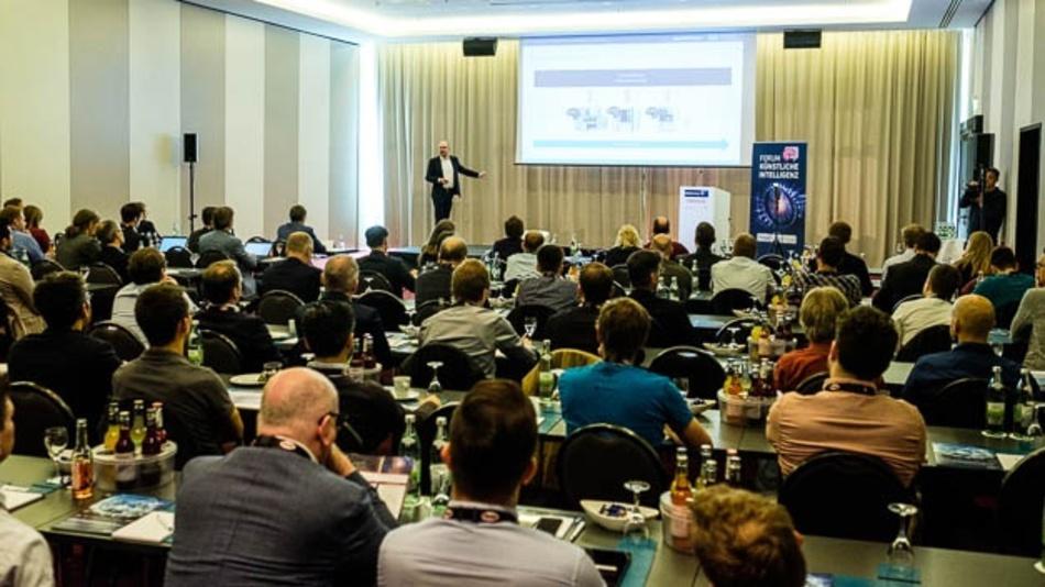 Gut besuchtes Forum Künstliche Intelligenz am 14.05.2019 in Stuttgart.