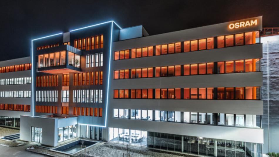 Standort von Osram Opto Semiconductors in Regensburg.