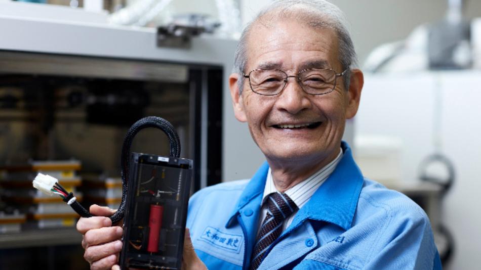 Akira Yoshino ist für den Europäischen Erfinderpreis 2019 nominiert.