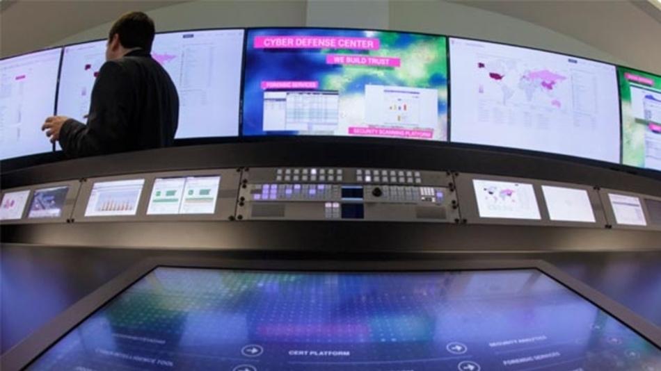 Im Zentrum für Cyberabwehr in Bonn bündelt die Telekom ihre Aktivitäten zum Schutz der eigenen Infrastruktur und der Kunden