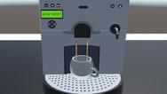 Zur Überprüfung der Benutzerfreundlichkeit bei Virtual Reality wurde ein Szenario am Kaffee-Automaten entwickelt.