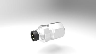 M8-Edelstahl-Crimpflansch-Steckverbinder für anspruchsvolle Ethernet-Applikationen