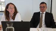 Zufrieden mit der Entwicklung ihres Unternehmens geben sich die geschäftsführenden Gesellschafter Susanne Kunschert und Thomas Pilz.