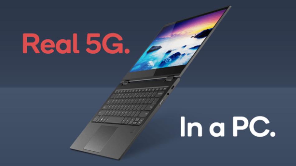 Qualcomm und Lenovo haben ein Jahr gemeinsam daran gearbeitet, den weltweit ersten 5G-PC auf Basis der Snapdragon 8cx 5G-Plattform auf den Markt zu bringen.
