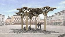 Datenübertragung / Architektur 5G-Sendemasten der Zukunft aus Holz?