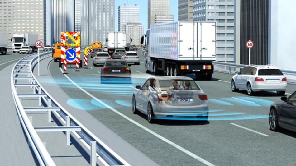 dSpace, e.GO Mobile und Institut für Industriemathematik starten Forschungsprojekt im Bereich automatisiertes Fahren.