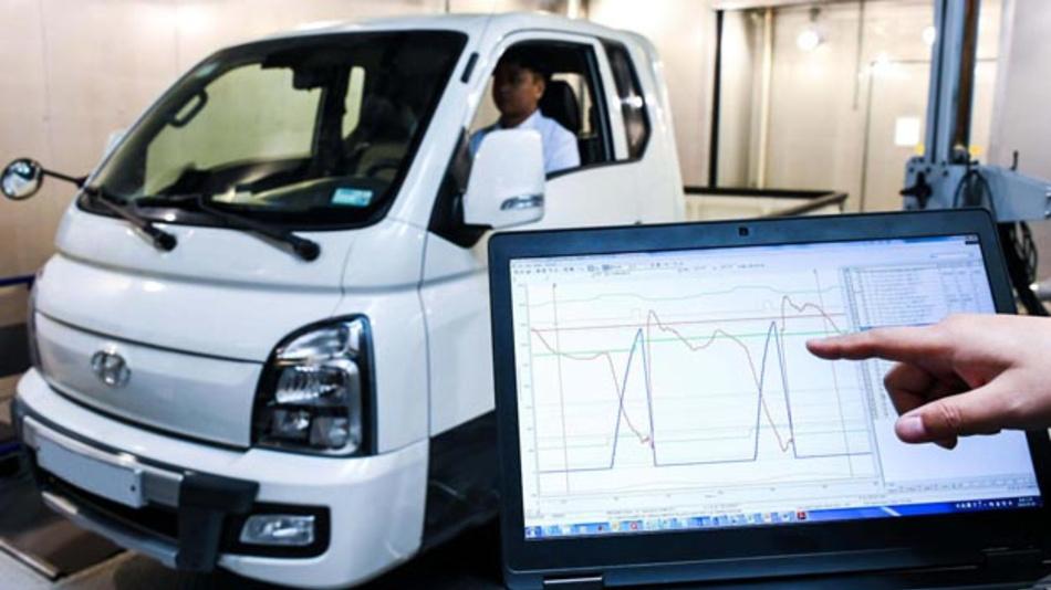 Hyundai hat ein System vorsgestellt, das das Drehmoment bei dem Elektroantrieb eines leichten Nfz nach dessen Beladungszustand regelt.