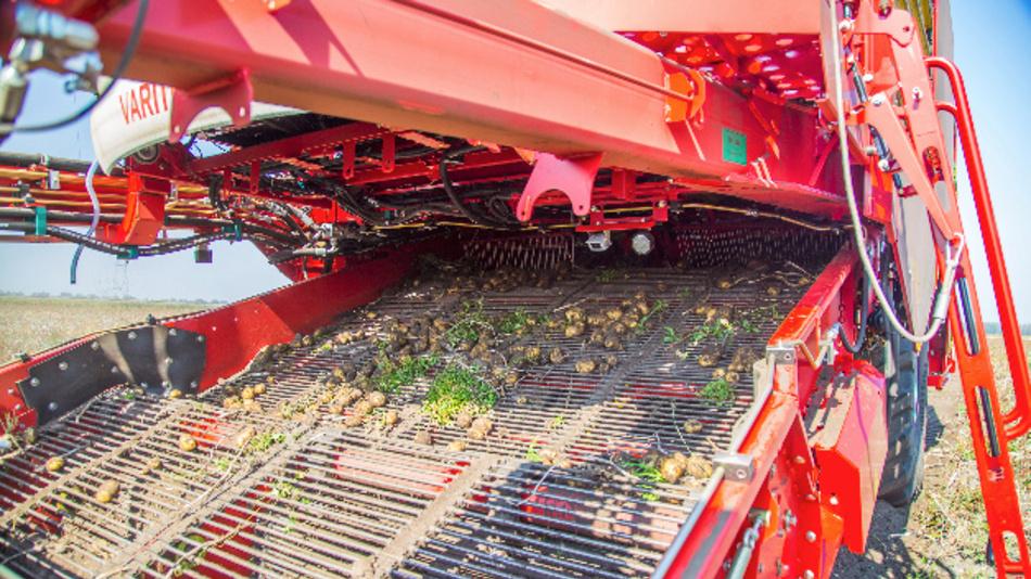 Bild 2. Kartoffel-Transportsiebe von Vollerntemaschinen sind stark verschleißgefährdet.