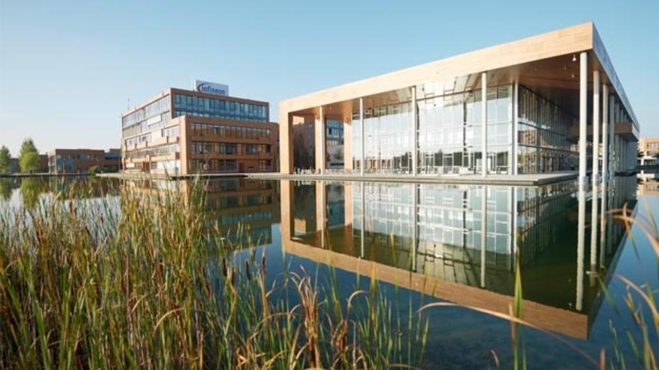 Infineon-Headquarter bei München.