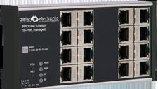 Managed Switches Binden bis zu 16 Netzwerk-Teilnehmer ein