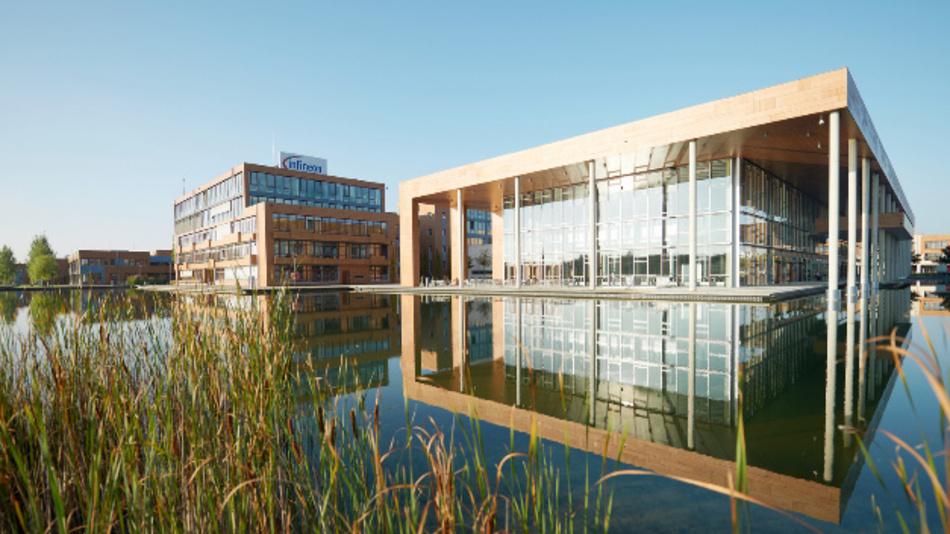 Die Infineon Zentrale im Landkreis München – der Campeon.