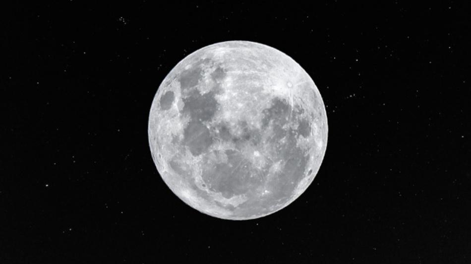 Warum blitzt es auf dem Mond?