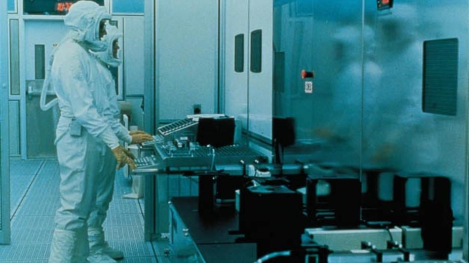 Halbleiter-Fertigung bei Intel