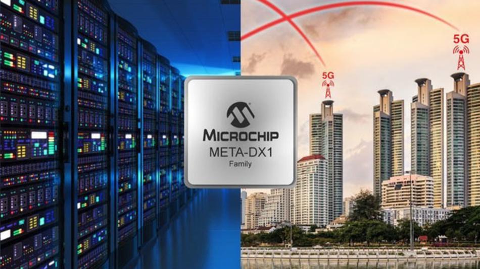 Bereit für noch höhere Datenraten: Ethernet-Phy-ICs der META-DX1-Familie von Microchip.