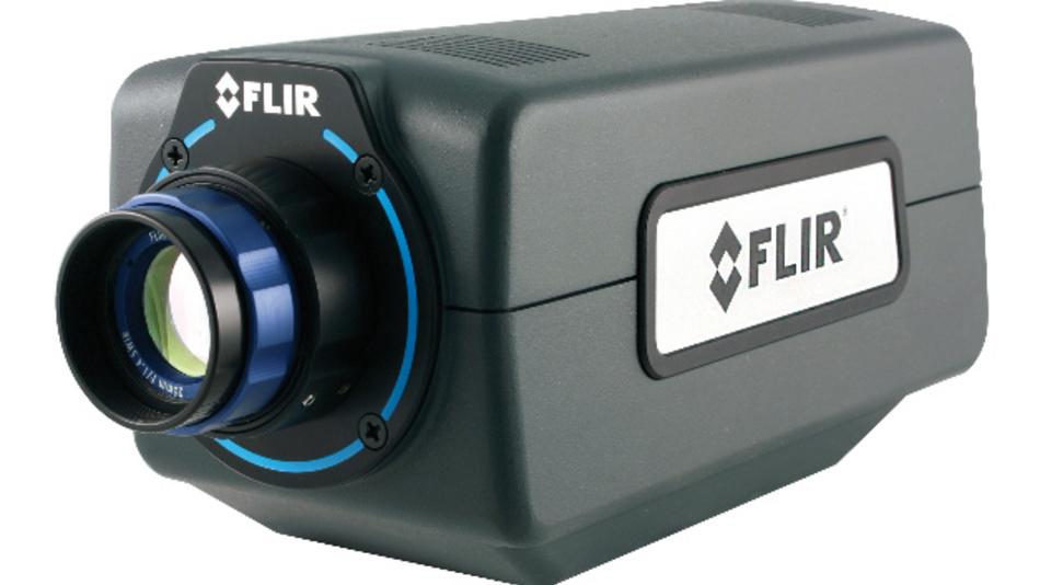 Die MWIR-Kamera bietet kurze Integrationszeiten und hohe Vollbildrate.