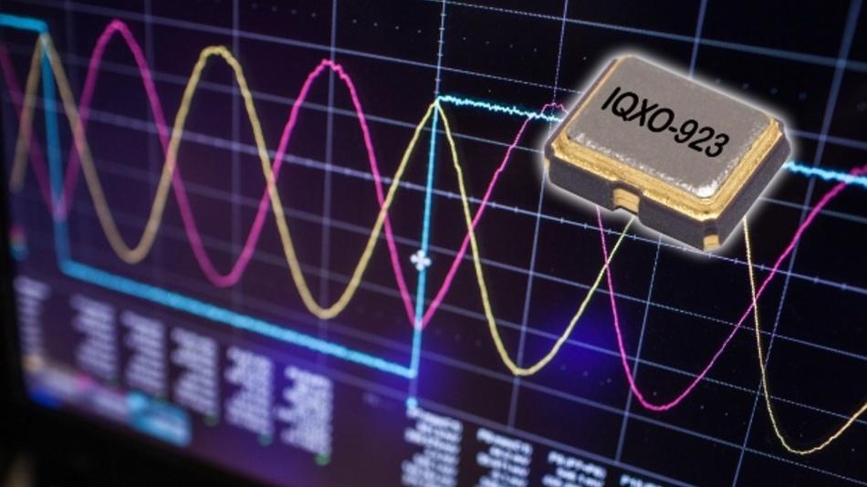 QXO-923 – die neue Reihe HCMOS-basierender Clock-Oszillatoren von IQD.