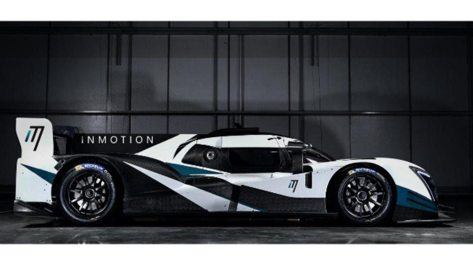 Ein Phantombild des neuen InMotion Rennwagens, basierend auf dem Ginetta-Chassis.