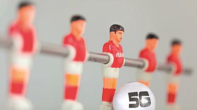 Fußball Kicker 5G-Ball