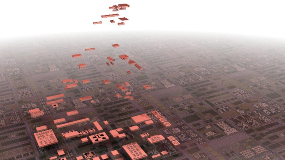 Die Vision: Statt monolithisch zu integrieren, lassen sich künftig komplexe Funktionen aus Chiplets zusammen setzen, die in den für sie jeweils optimalen Prozesstechniken gefertigt werden.