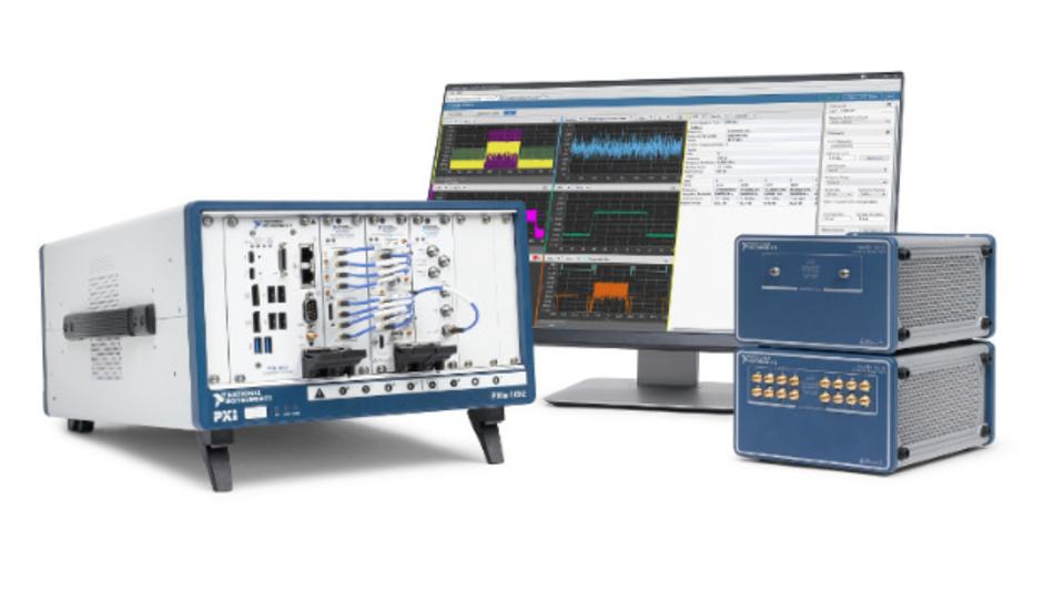 wwWellen-Testsystem zur Bauteilcharakterisierung von RFICs und Leistungsverstärkern bis 44 GHz.