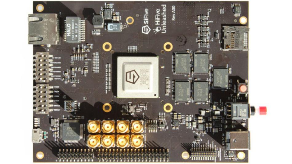 Das Entwicklungsmodul HiFive Unleashed von SiFive basiert auf dem SoC Freedom U540.