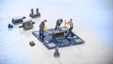 Niedrigstdrucksensoren SM9235 für Differenz- und Relativdruck im SOIC-Gehäuse