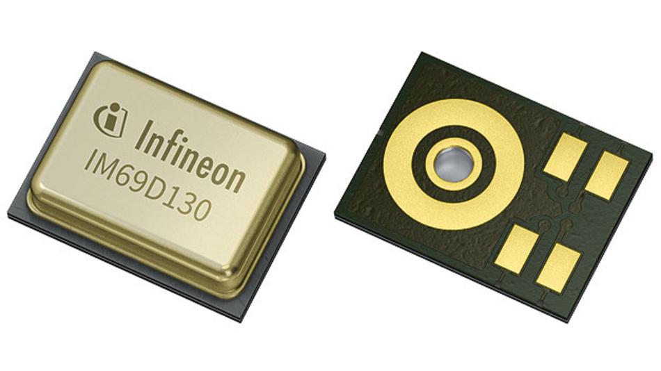 Bild 1. Kompakte neue MEMS-Mikrofongeneration mit großem Signal-Rausch-Verhältnis und geringer Verzerrung.
