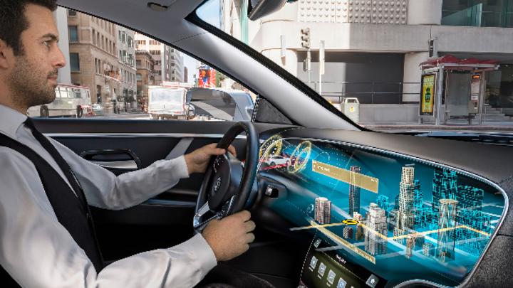 3D-Display im Auto von Continental