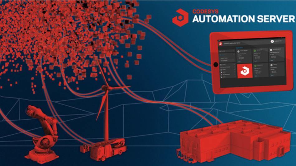 Als Industrie-4.0-Plattform vereinfacht der Codesys Automation Server Anwendern mittels Web-Techniken typische Automatisierungs-Aufgaben.