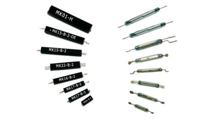 Umspritzte SMD-Reed-Sensoren von Standex Electronics