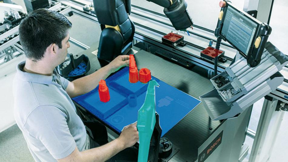 Segmentierung zur Robotereinrichtung (rechts)