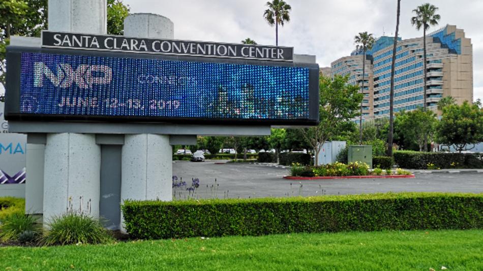 Schauplatz der NXP connect 2019 ist das Santa Clara Convention Center.