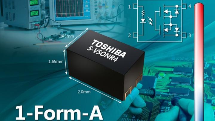 Toshiba stellt eine neue Serie von spannungsgesteuerten Fotorelais vor