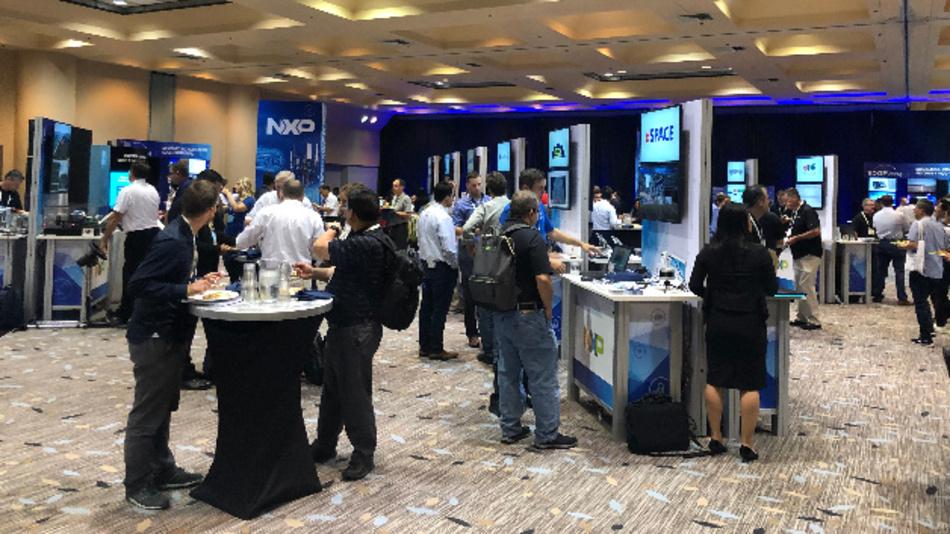 Rund 90 Demos gab es in NXPs technology-Lab zu sehen.