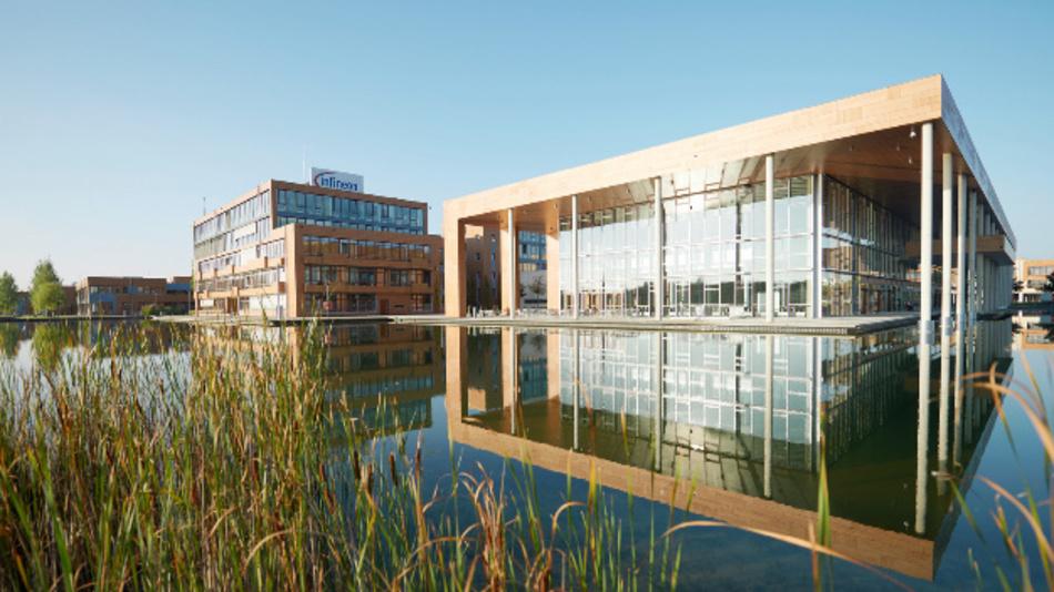 Der Hauptsitz von Infineon in München.