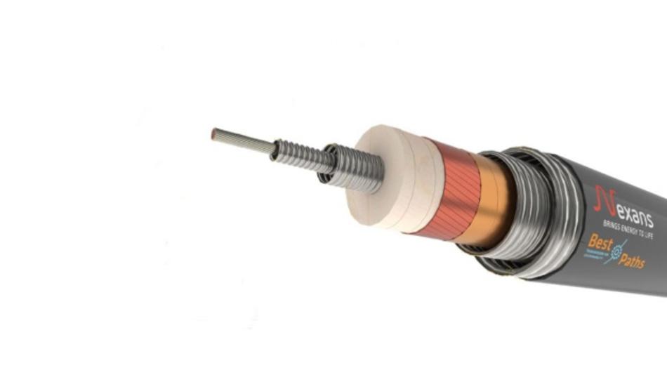 Der Aufbau des ersten supraleitenden Kabels für den Einsatz in der Hochspannungs-Gleichstromübertragung.
