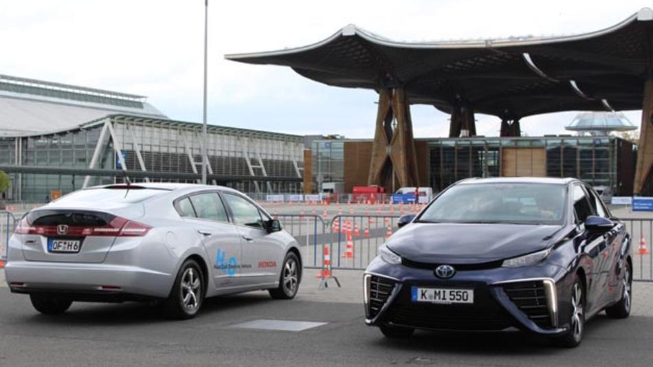 Brennstoffzellenfahrzeuge wie der Honda FCX oder der Toyota Mirai sind zwar seit einiger Zeit auf dem Markt verfügbar, aber in Deutschland kaum gefragt.