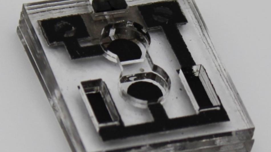 Biokompatible Batterie für vernetze Wegwerfprodukte.