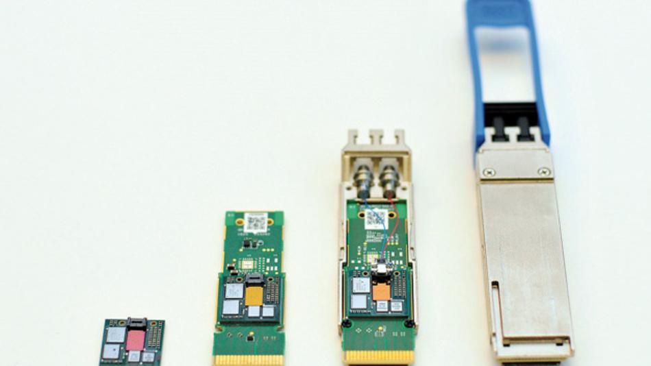 Juniper Networks mit seiner Silizium-Photonik-Technologie die Kostenvorteile des klassischen Elektronik-Ökosystems nutzen