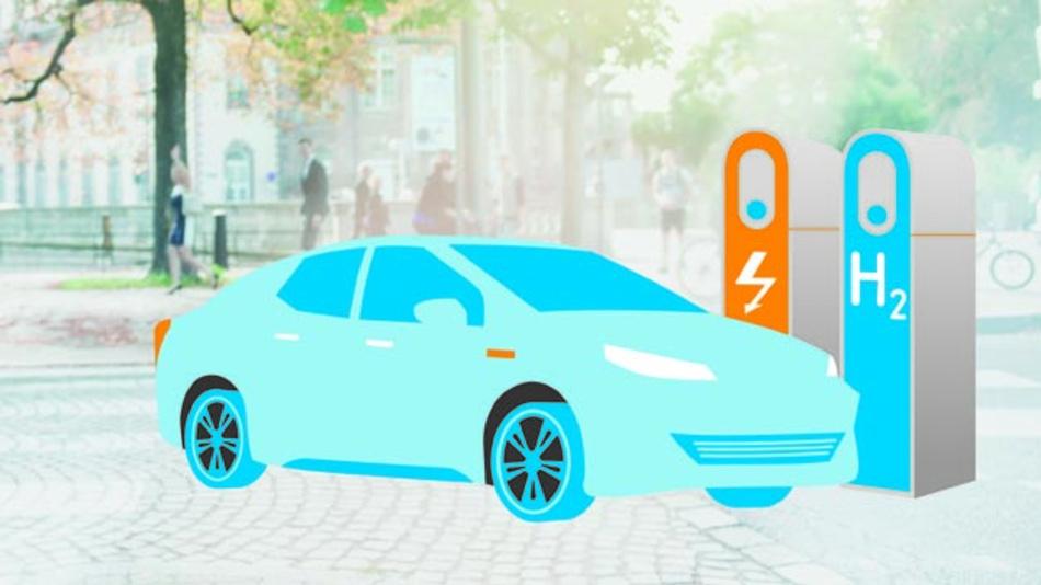 VDI und VDE fordern eine gleichberechtigte Förderung von Brennstoffzellen- und batterieelektrischen Fahrzeugen.