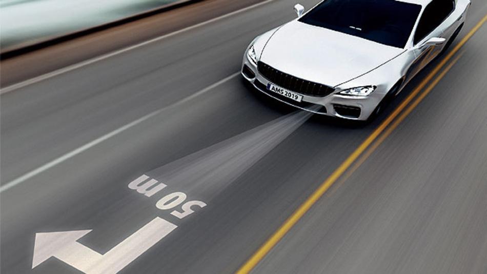 Fahrzeugbeleuchtung beim automatisierten Fahren erfordert neue Funktionsprinzipien wie das Mikrolinsen-Array.